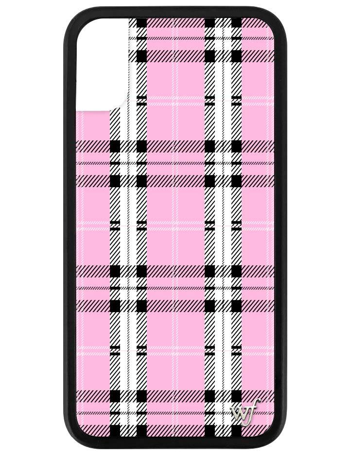 reputable site 398fb 084e7 Pink Plaid iPhone X/Xs Case