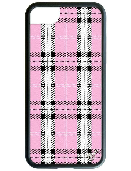 Pink Plaid iPhone SE/6/7/8 Case