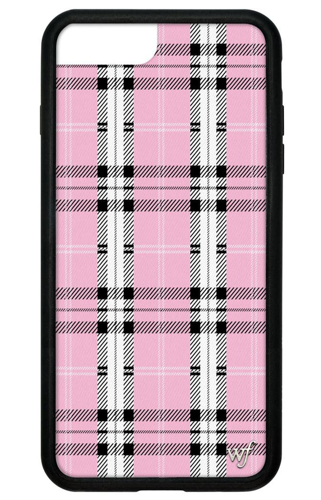 free shipping c542e d793a Pink Plaid iPhone 6+/7+/8+ Plus Case