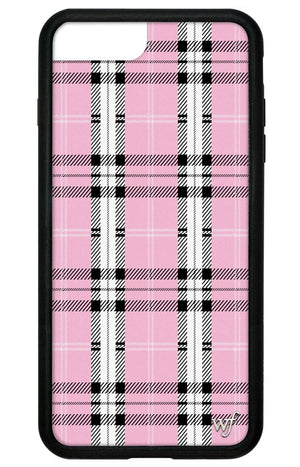 Plaid iPhone 6+/7+/8+ Plus Case | Pink
