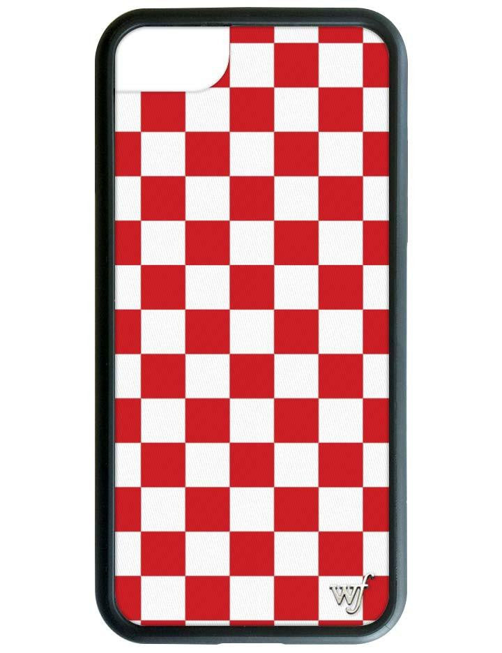 new style 23ef2 f560a Red Checkers iPhone 6/7/8 Case