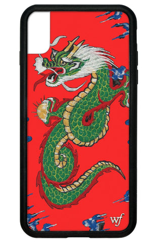 Red Dragon iPhone Xs Max Case