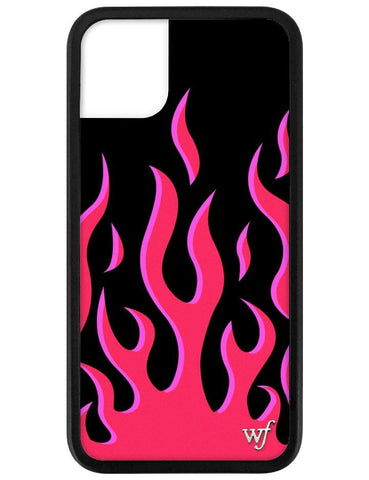 Red Flames iPhone 11 Case