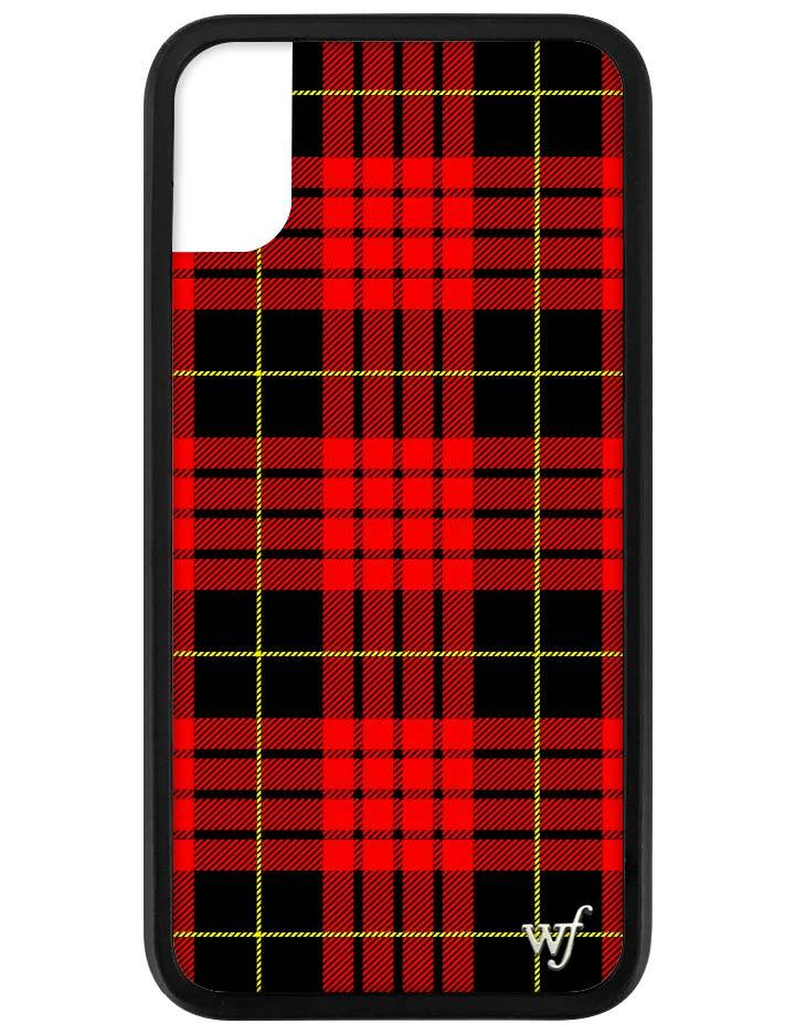 size 40 81778 18b66 Red Plaid iPhone X/Xs Case
