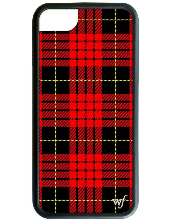 wholesale dealer 4e8ed edba6 Red Plaid iPhone 6/7/8 Case