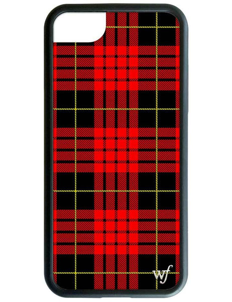 Red Plaid iPhone SE/6/7/8 Case