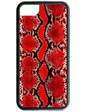 Red Snakeskin iPhone 6/7/8 Case