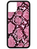 Pink Snakeskin iPhone 11 Case