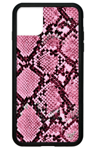 Pink Snakeskin iPhone 11 Pro Max Case
