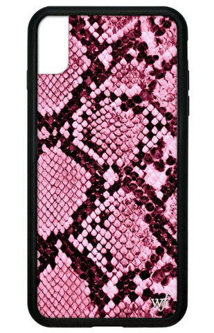 Pink Snakeskin iPhone Xs Max Case