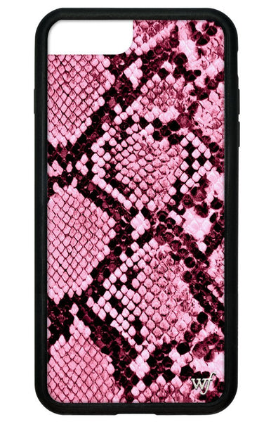 Pink Snakeskin iPhone 6+/7+/8+ Plus Case
