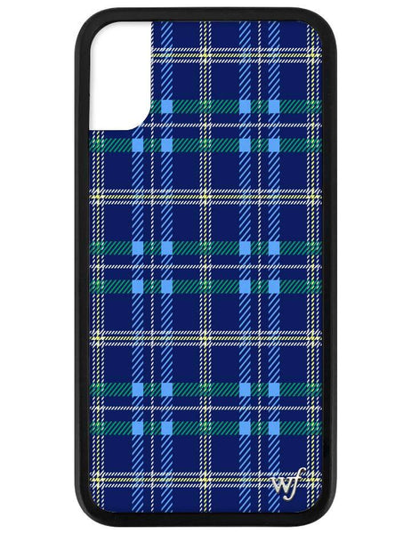 Navy Plaid Phone X/Xs Case