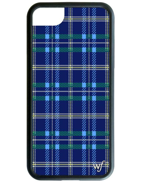 Navy Plaid iPhone 6/7/8 Case