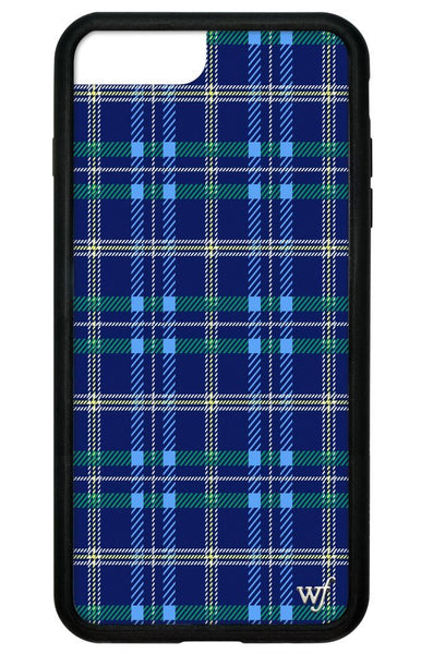 the latest 69274 93f92 Navy Plaid iPhone 6/7/8 Plus Case