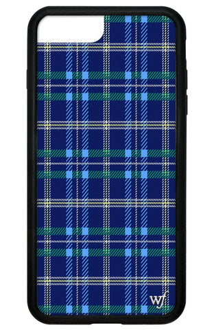 Navy Plaid iPhone 6/7/8 Plus Case
