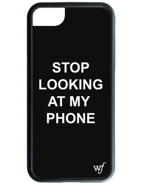Stop looking at my phone iPhone SE/6/7/8 Case