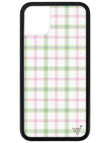 Pastel Plaid iPhone 11 Case