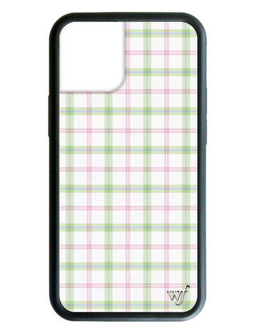 Pastel Plaid iPhone 12 Case