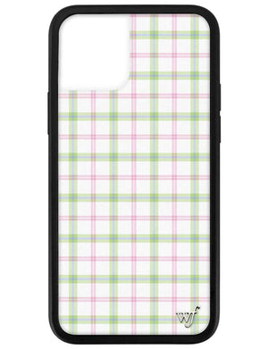 Pastel Plaid iPhone 12 Pro Case