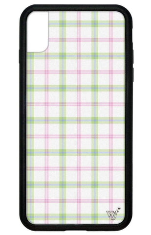 Pastel Plaid iPhone Xs Max Case