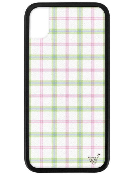 Pastel Plaid iPhone Xr Case
