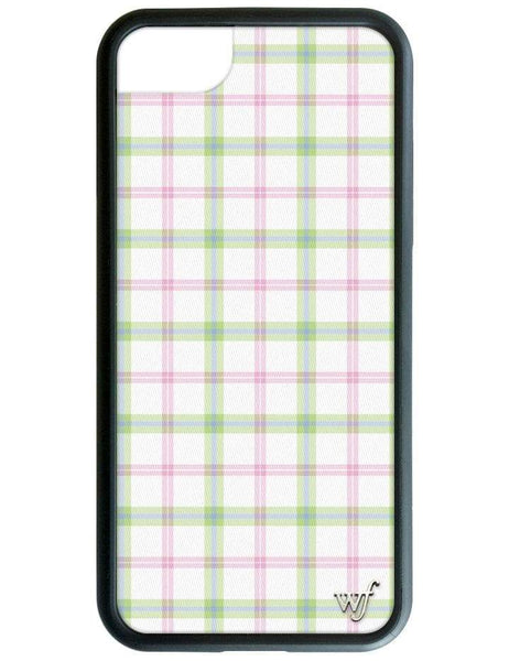 Pastel Plaid iPhone SE/6/7/8 Case