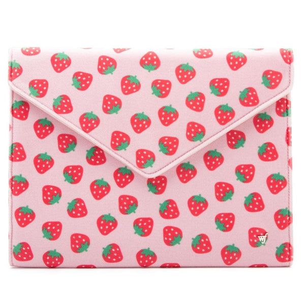 "Strawberry 13"" Laptop Clutch"