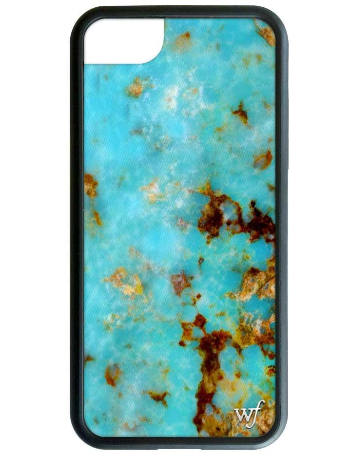 turquoise iphone 6 7 8 case wildflower cases