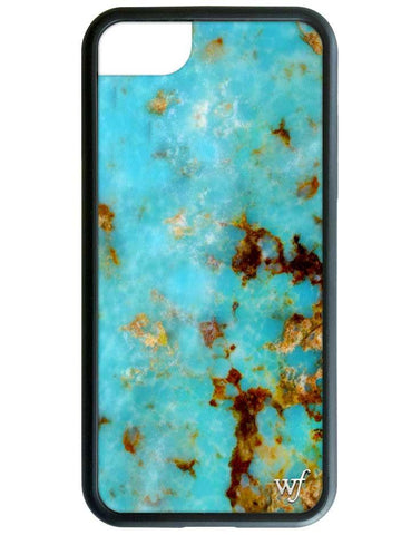 Wildflower Turquoise iPhone 7 Case