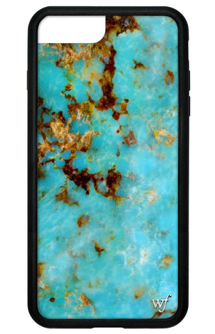 Wildflower Turquoise iPhone 7 Plus Case