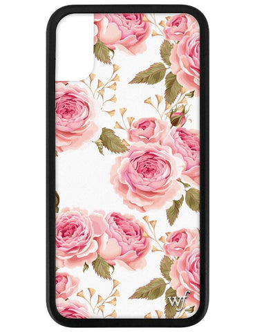 White Floral iPhone X/Xs Case