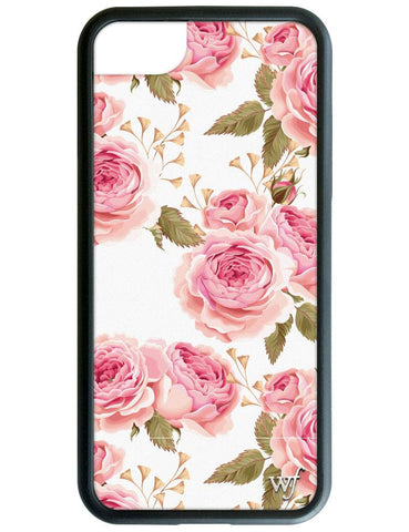White Floral iPhone 6/7/8 Case