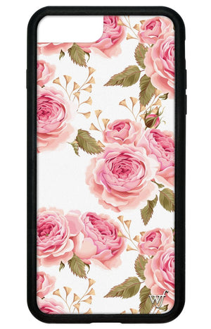 White Floral iPhone 6/7/8 Plus Case