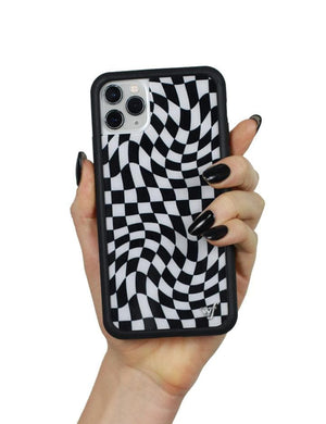 Crazy Checkers iPhone 11 Pro Case | Black