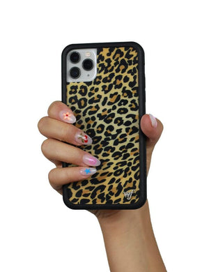 Leopard iPhone 11 Pro Max Case | Gold