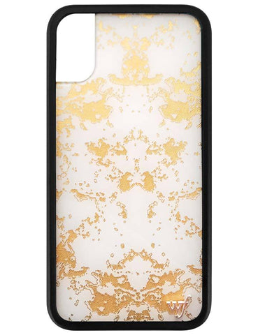 Gold Dust iPhone X Case