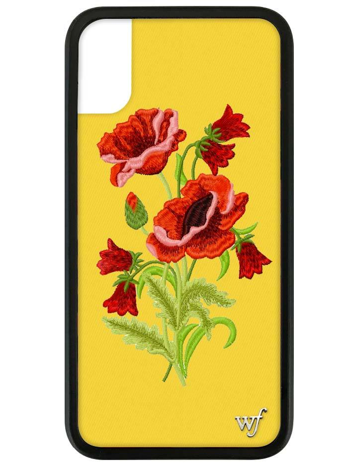 finest selection 9d66c 38a5d Yellow Floral iPhone X/Xs Case
