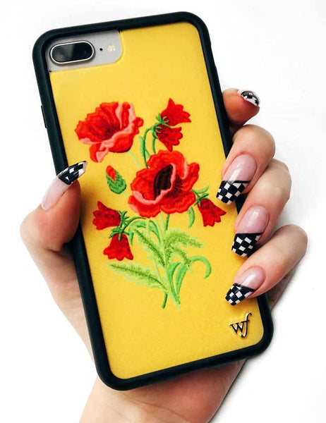 finest selection 8d997 4275b Yellow Floral iPhone X/Xs Case
