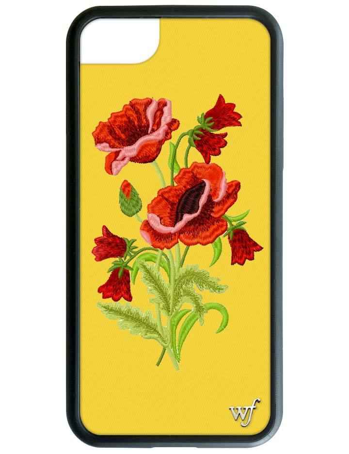 new products 0a5ac 4f62e Yellow Floral iPhone 6/7/8 Case
