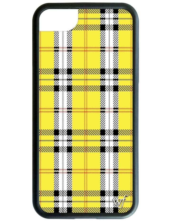 huge selection of 97d19 3c4c2 Yellow Plaid iPhone 6/7/8 Case