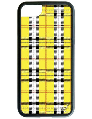 Wildflower Yellow Plaid iPhone 6/7/8 Case