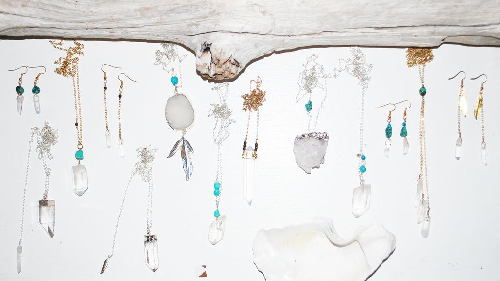 Crystal Jewellery, Earth and Shore, Shannon Ross, Vancouver
