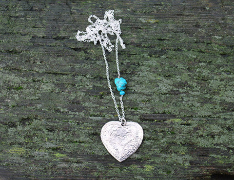 Crystal Moonstone Turquoise Love Necklace, Jewellery, Sun Moon Nation, Shannon Ross, Vancouver