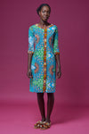 Seydou blue dress