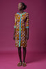 Seydou brown dress