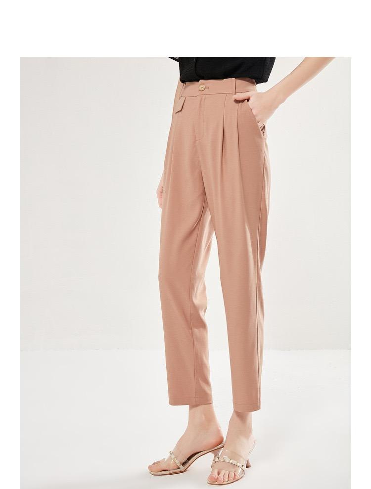 PNM Bottoms & 1 piece Pleated Pants With Pockets