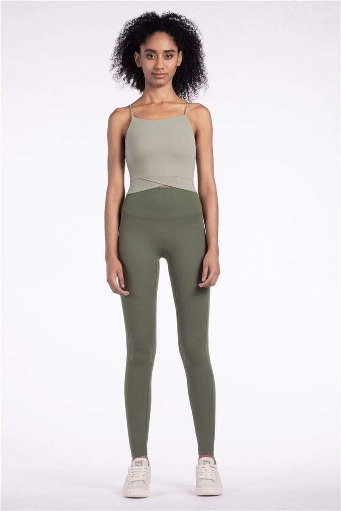 PNM Bottoms & 1 piece QUALIFIER SPEEDPOCKET PERFORATED ANKLE CROP - Leggings