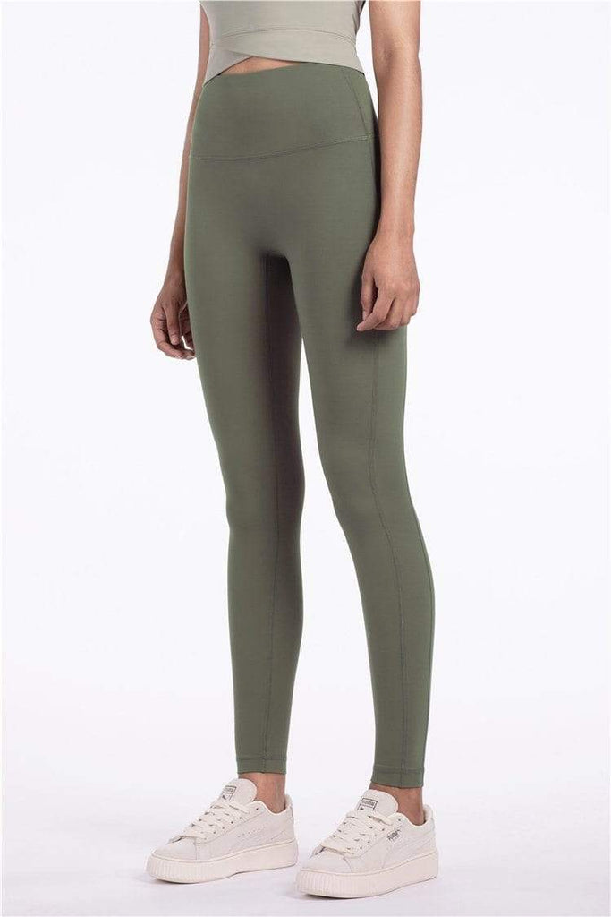 PNM Bottoms & 1 piece S / Green QUALIFIER SPEEDPOCKET PERFORATED ANKLE CROP - Leggings