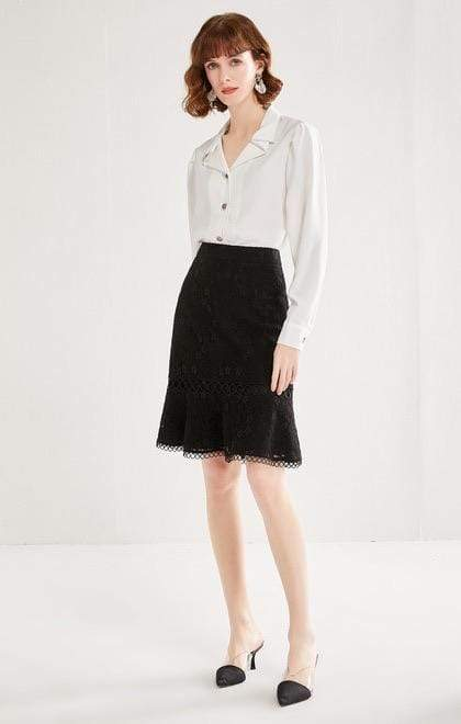 PNM CLOTHING bottoms A line Skirt