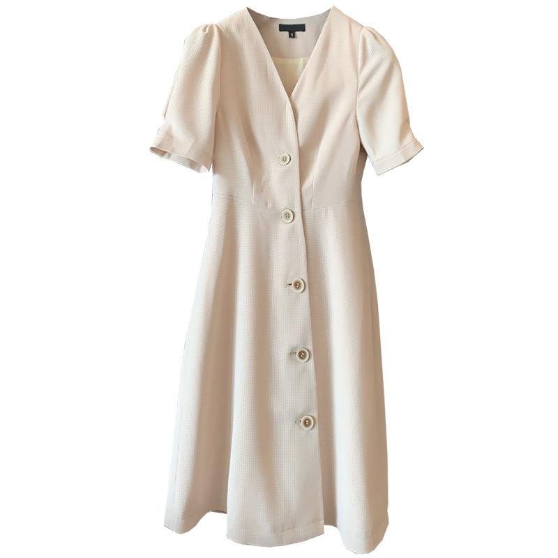 PNM ClOTHING Petal Sleeved Shift Dress